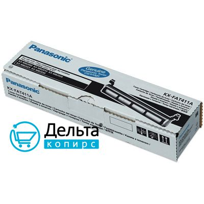 Тонер-туба Panasonic  KX-FAT411A